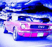 red car at red rocks by theirishJoel