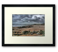 """""""Blowing in the Wind"""" Framed Print"""