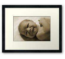 It's A Girl ! Framed Print
