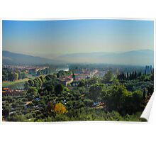 Hills of Tuscany Poster