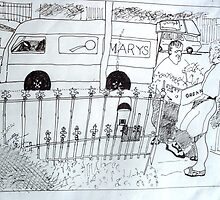 The Suburbs by Richard  Tuvey