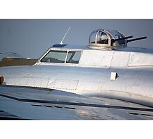 B-17 Yankee Lady top gun turret Photographic Print