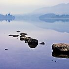A very still Lake of Menteith by StuartStevenson