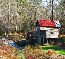 """""""Tumlin's Mill Without Wires"""" by franticflagwave"""