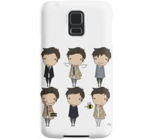 The Many Faces of Castiel Samsung Galaxy Case/Skin