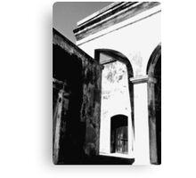 Doorway - San Juan Canvas Print