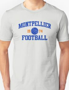 Montpellier Football Athletic College Style 2 Gray T-Shirt