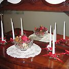Red Bows and Candles! by Pat Yager