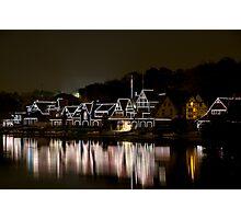 Boat House Row, Philadelphia PA Photographic Print