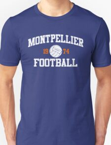 Montpellier Football Athletic College Style 2 Color T-Shirt