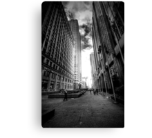 The Street of Flags Canvas Print