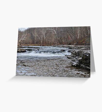 Lower Cataract Falls Greeting Card