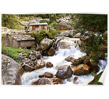"""The """"Milk River"""" in Nepal Poster"""