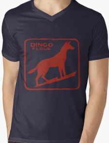 Dingo Flour Mill Mens V-Neck T-Shirt