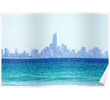 Surfers Paradise,City By The Surf. Poster