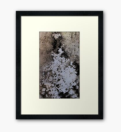 Waste Not, Want Not,  Compost Art Framed Print