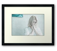 Ana - simply Framed Print