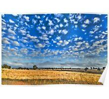 Rylstone Cloudscape Poster