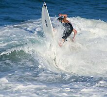 In the white Wash,Snapper Rocks. by SouthernCross