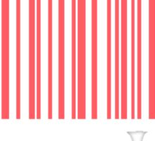 Not Your Babe Barcode Sticker