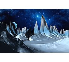 Worlds Beyond the Ice Photographic Print