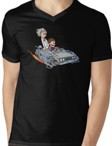 Great Scott !!! Mens V-Neck T-Shirt