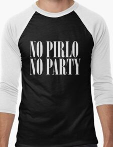 No Pirlo, No Party Men's Baseball ¾ T-Shirt