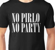 No Pirlo, No Party Unisex T-Shirt