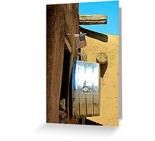Adobe Apartment Greeting Card