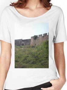 a desolate Ghana landscape Women's Relaxed Fit T-Shirt