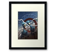 Space Circus Framed Print