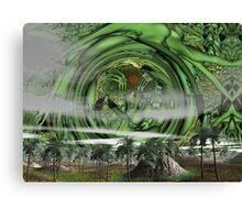 Return of the green gods  Canvas Print
