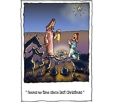 Christmas comes but once a year, Photographic Print