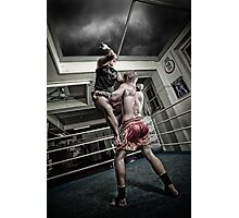 Amm Muay Thai - Elbow Photographic Print