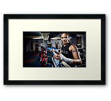 Amm Muay Thai - Ringside Framed Print