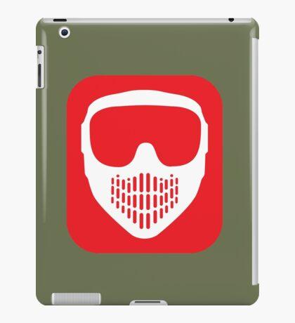 Paintball Goggles iPad Case/Skin
