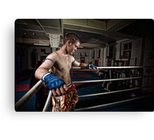Ty Muay Thai - Ring Side Canvas Print