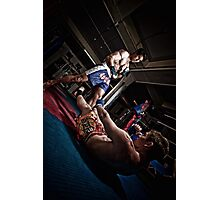 Fight - Mehdi - Ty Photographic Print