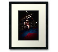 Ty Framed Print