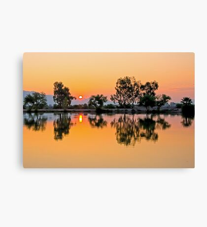 Sunrise at Silverbell Canvas Print