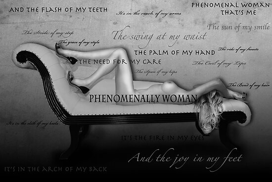 Phenomenally Woman by AnnabelHC