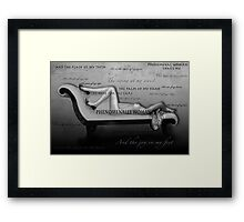 Phenomenally Woman Framed Print