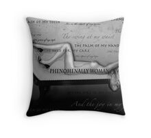 Phenomenally Woman Throw Pillow