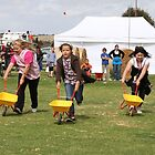 Wheelbarrow racing at the Callington Show by lizh