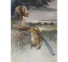 Eowyn - German Wire Hair Pointer Photographic Print