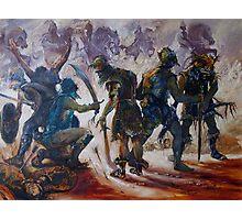 Yurak Hai Warriors - Lord of the Rings Photographic Print