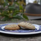 Macadamia and Wattle Seed Biscuits by lizh