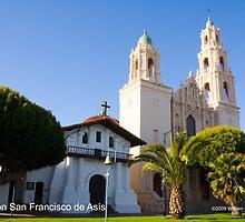 Mission San Francisco de Asís by William Hackett