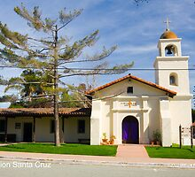 Mission Santa Cruz by William Hackett
