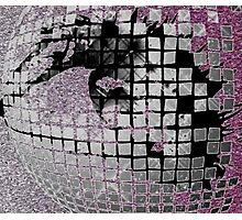 Disco Ball Eye #2 Photographic Print